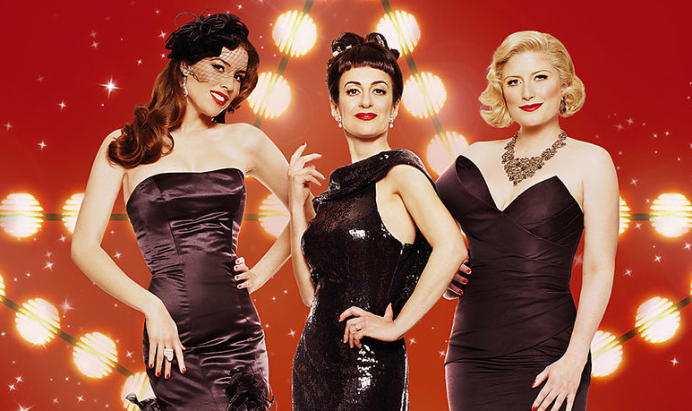 The Puppini Sisters the vocal trio Happy Birthday