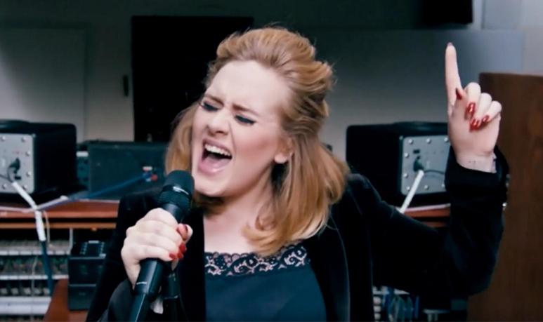 clip Adele un titre inédit When We Were Young