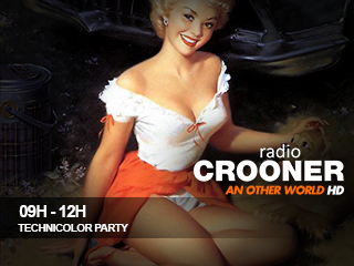 9h 12h crooner radio tecnicolor party