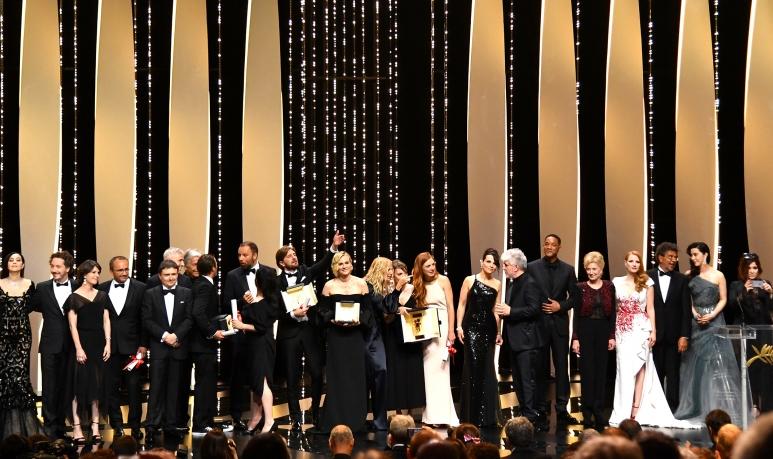 Palmarès du 70e Festival de Cannes