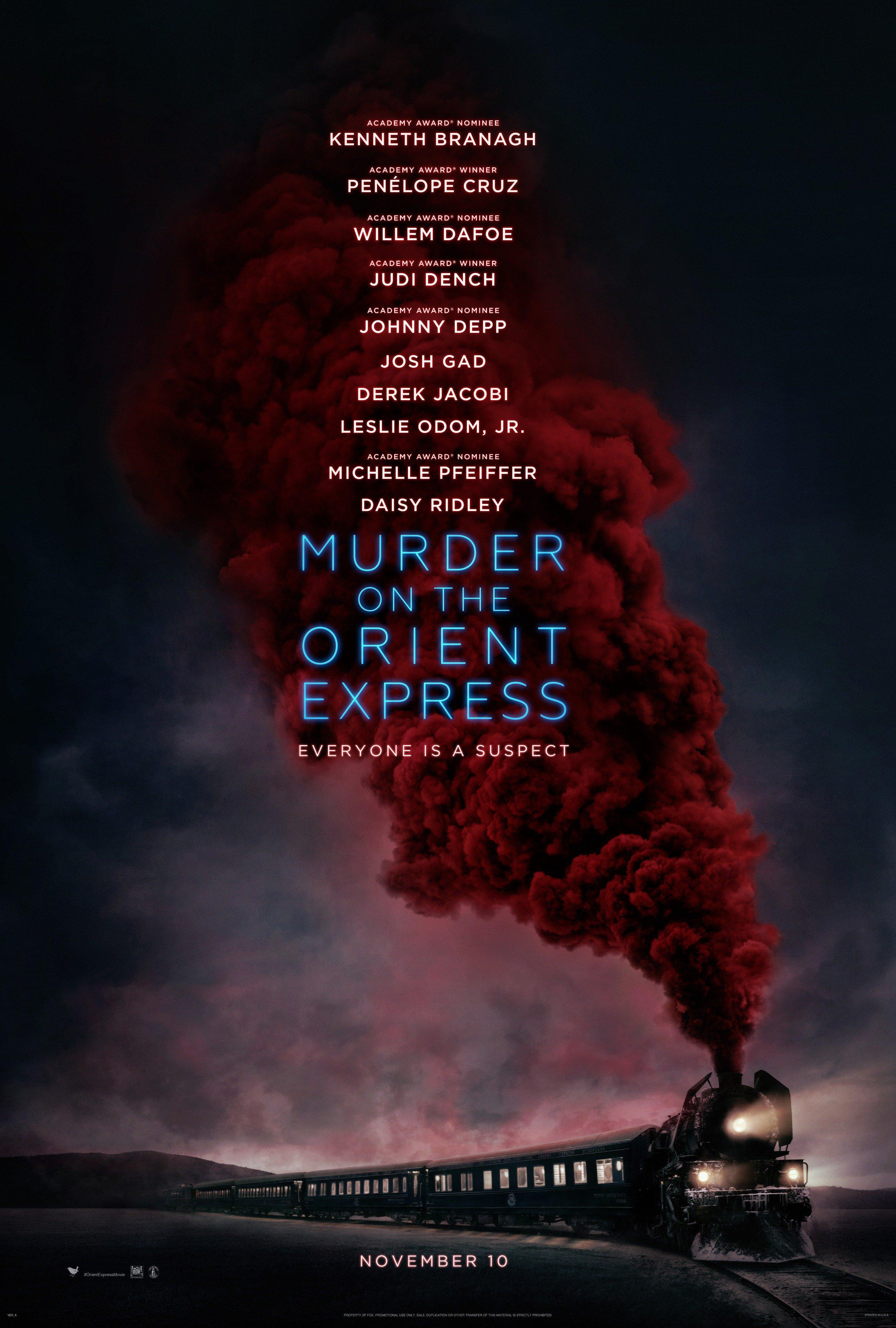 Le Crime de l'Orient-Express Affiche