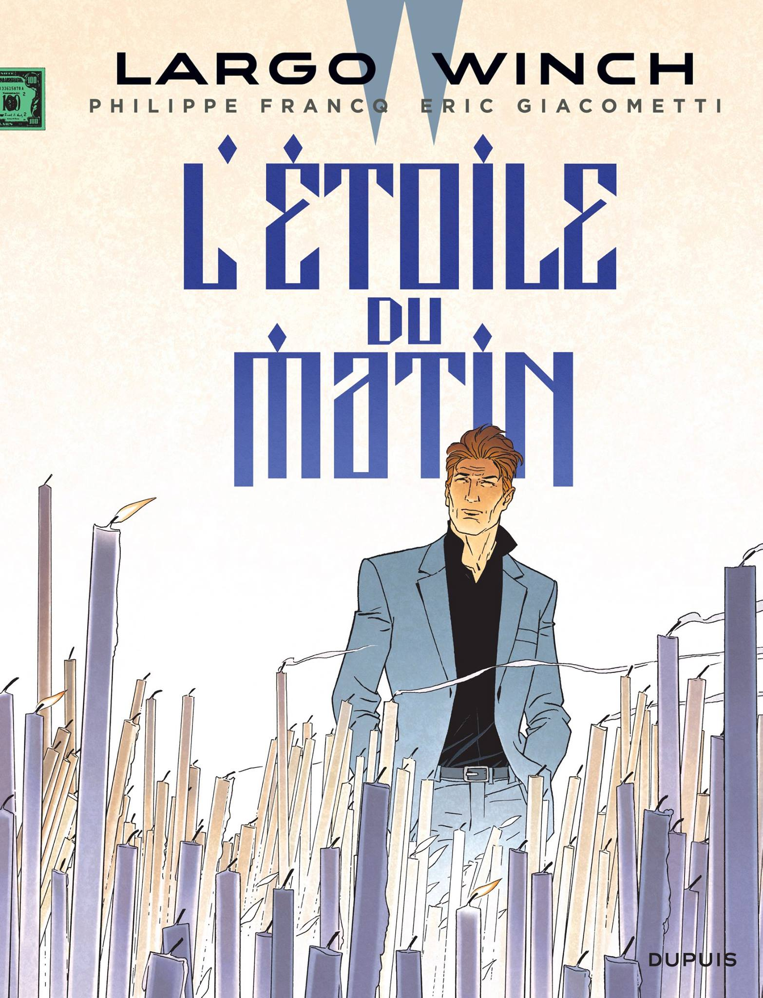 largo winch l'étoile du matin cover