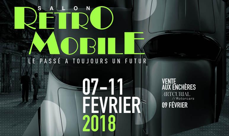 Salon Rétromobile 2018 paris
