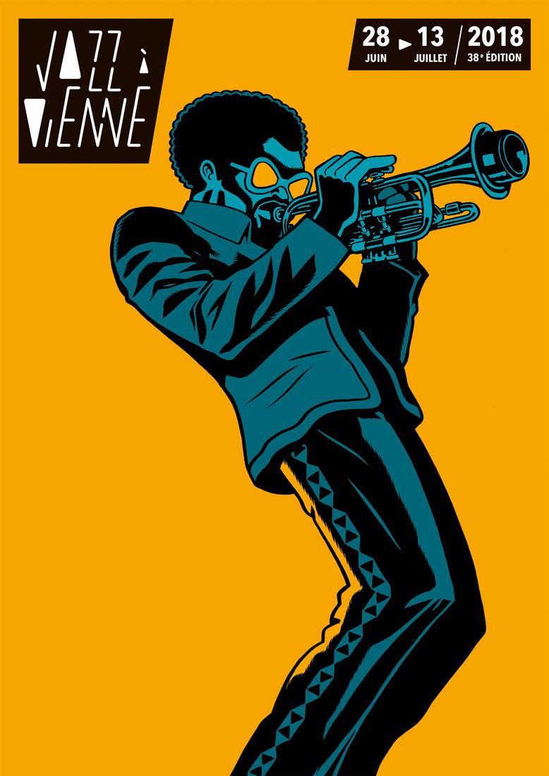 affiche jazz a vienne 2018