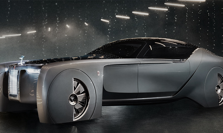 rolls royce 103ex voiture future luxe