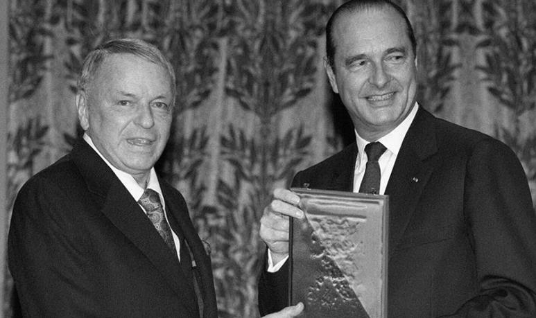 jacques chirac frank sinatra décès président france