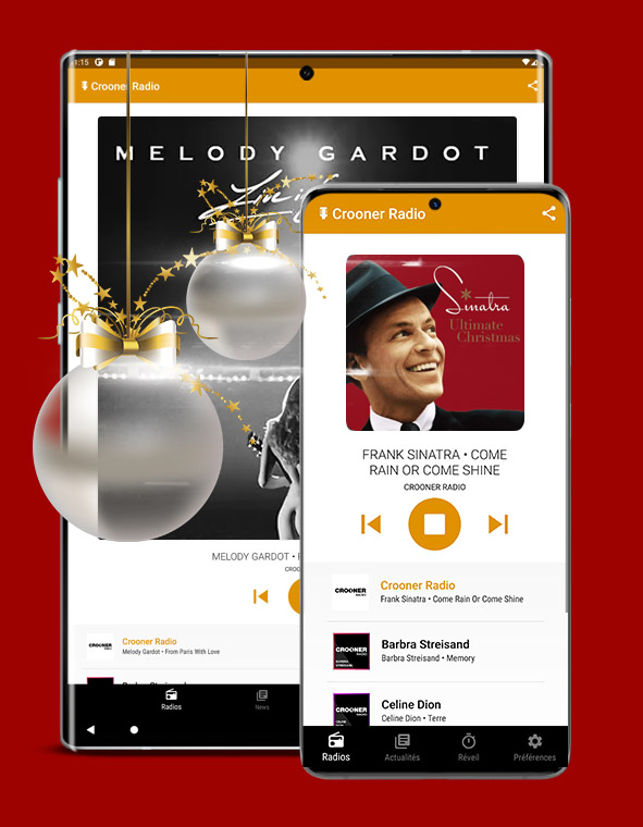 Crooner Radio Application Apple Android Windows Iphone Samsung